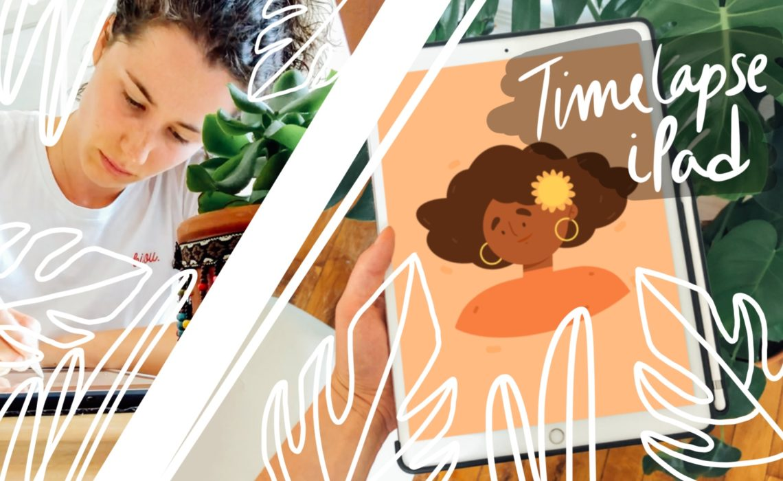 Timelapse illustration – Summer Time